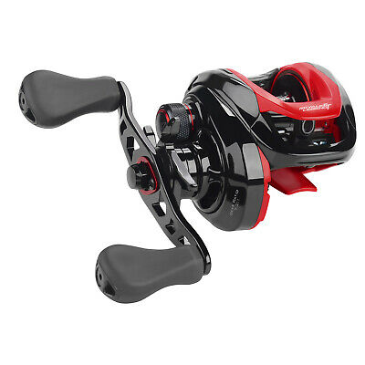Premium Aluminum Spool 11+1 BBs Right-Hand Low Profile Baitcaster Fishing Reel
