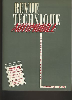 (C3B)REVUE TECHNIQUE AUTOMOBILE PEUGEOT 203 / PEUGEOT 403 Carrosserie