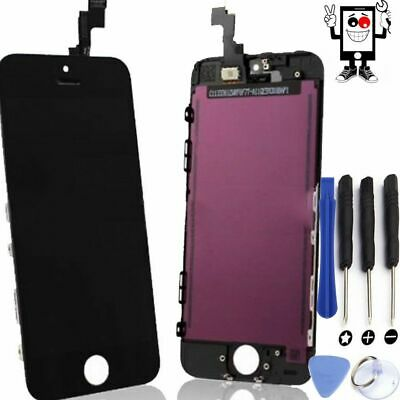Pantalla Completa Schermo Lcd Display Para Apple Iphone 5C Negra Negro