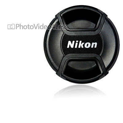 Genuine Nikon 77mm Snap-on Lens Cap For Nikon Lenses 77 mm LC-77