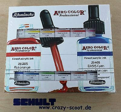Aero Color Professional Farbset 12 x 28 ml