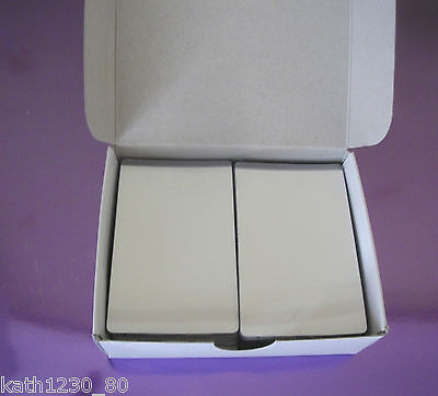 100 Credit Card Size Self Seal Laminating Pouches (Cold Seal)