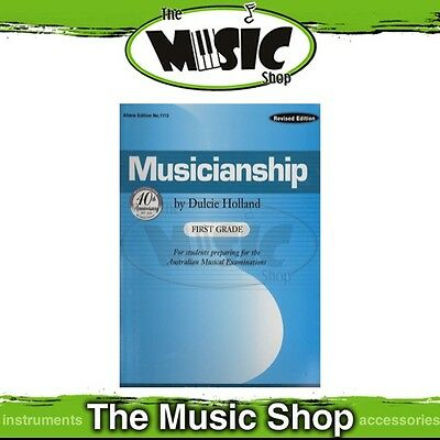 New Musicianship First Grade by Dulcie Holland Music Tuition Book - Revised Ed.