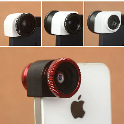 NEW 3in1 Fish Eye Wide Angle Macro Camera Photo Zoom Lens Kit for iPhone 4 4s 4G