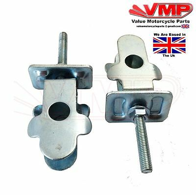 SUPERBYKE RMX125 & HYOSUNG RX, XRX 125 Chain Adjuster Tensioner Puller Pair