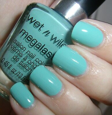 WET N WILD Mega Last Nail Color Nagellack (I Need a Refresh-Mint) NEU