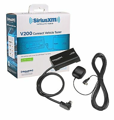 New Sirius Xm Sxv100V2 Sxv200 Satellite Radio In Car Tuner & Antenna Siriusxm
