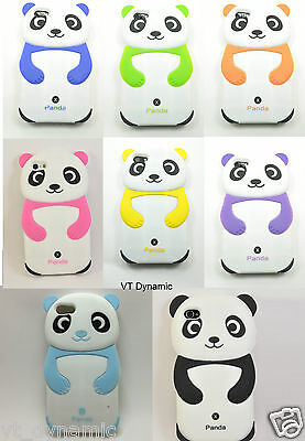 For Apple iPhone 5 Cute Baby Panda Bear Soft Skin Silicone Case Cover 5G 6th