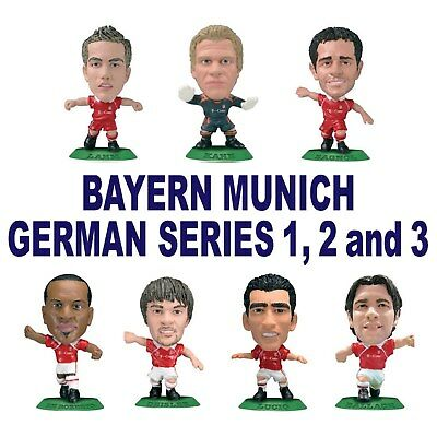 BAYERN MUNICH German Series 1, 2 and 3 MicroStars - Choose from 16 figures