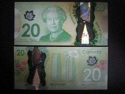 Canada P-New 2012 Polymer 20 Dollar (Gem UNC) NEW!!!