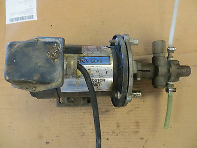 Boston Gear Pm925At-1 1725 Motor Bronze Oberdorfer 991R Closed-Coupled Gear Pump