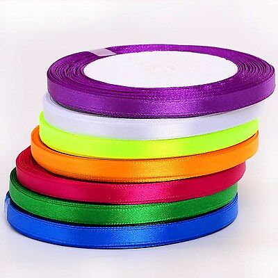 6MM Pure Color Single-sided Silk Ribbon for Happy Marriage SD032