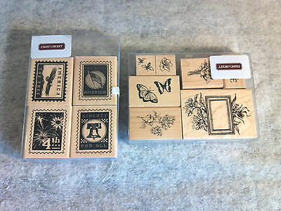 Close to My Heart Rubber Stamps Set Lot of 11 pcs Art & Craft Scrap Booking AC06