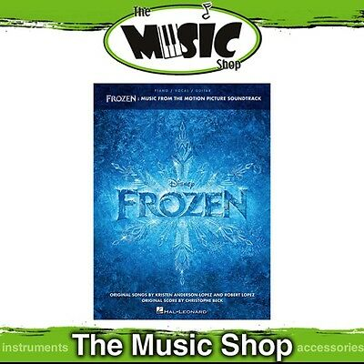 New Disney's Frozen Soundtrack PVG Music Book - Piano Vocal Guitar