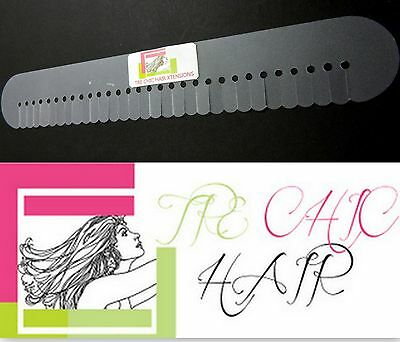 XXXL Long Multi Hair Template Scalp Shield Protector Strip For Hair Extensions