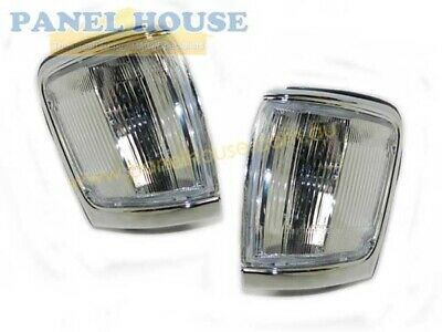 Corner Indicator Light PAIR Chrome New Fits Toyota Surf / 4Runner 91-97