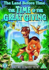 The Land Before Time 3 - The Time Of Great Giving Dvd New Factory Sealed