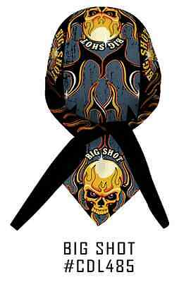 Big Shot Skull Wings Headwrap Bandanna Sweatband Durag Capsmith Free Shipping