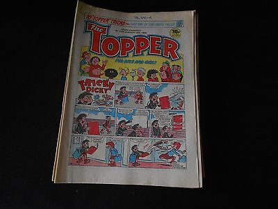 The Topper Comic 1615 January 14th 1984