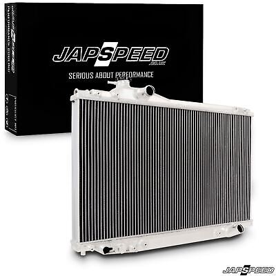 Japspeed Aluminium Alloy Race Radiator Rad For Toyota Soarer 1Jz 2.5 Twin Turbo