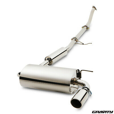 Stainless Steel Decat De Cat Race Exhaust System For Mazda Mk1 Mx5 1.6 Cyl