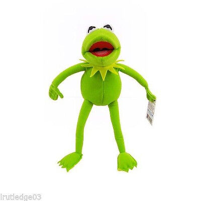 "Disney World Parks Muppets Kermit the Frog Plush 9"" Doll Exclusive -  NEW"