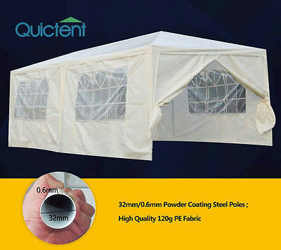 Quictent 10'x20'High-grade Party Wedding Tent Canopy Marquee Gazebo Pavilion