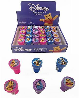 New! (24ct) Disney Winnie the Pooh Stamps Stampers self-inking Party Favors