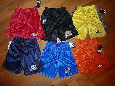 NFL Kids Boys Athletic Active Shorts ALL teams NEW you choose team/color/size