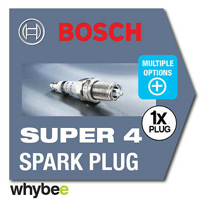 NEW! BOSCH 'SUPER-4' SPARK PLUGS for CARS - FULL RANGE AVAILABLE! FREE UK POST!