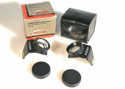 Auxiliary Telephoto And Wide Angle Lens Set For Kodak K-10