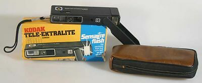Kodak Tele-Ektralite 600 Camera And Case With Original Box