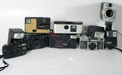 Miscellaneous Camera   Flash Collection - Group Of 10