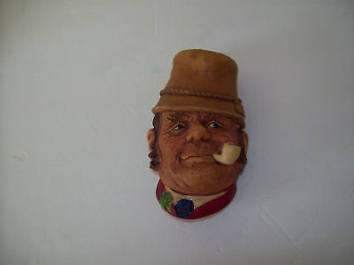 """Vintage Bossons figural wall mount head""""PADDY""""1969"""