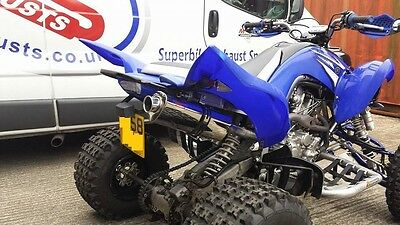 YAMAHA Raptor 700R Stainless Tri-oval ROAD LEGAL MTC Exhaust