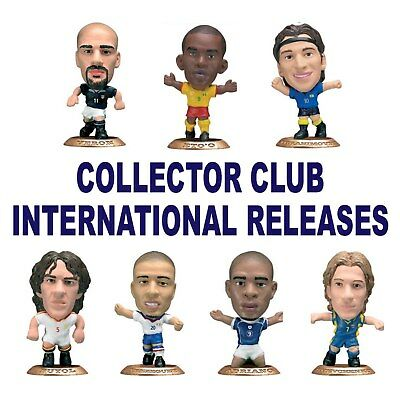 COLLECTOR CLUB INTERNATIONAL MICROSTARS - Choice of 8 different Figure GOLD Base