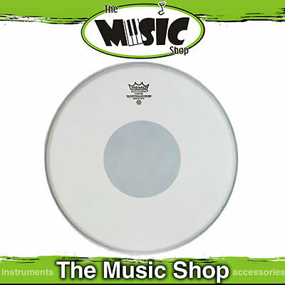 "Remo 14"" Coated Controlled Sound Drum Skin w/ Black Dot  - Snare Head CS-0114-10"