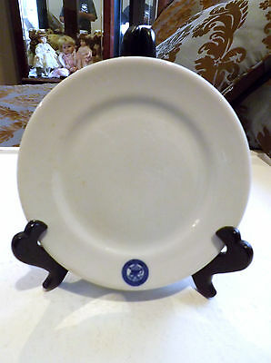 Veterans Adminstration 1930 6 1/4 Inch Shenango China Plate