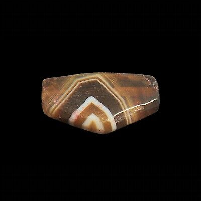 Aphrodite- Ancient Western Asiatic Banded Agate Stone Bead