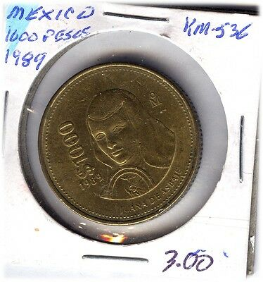 LOT OF  MEXICANS COINS FROM 1989-93