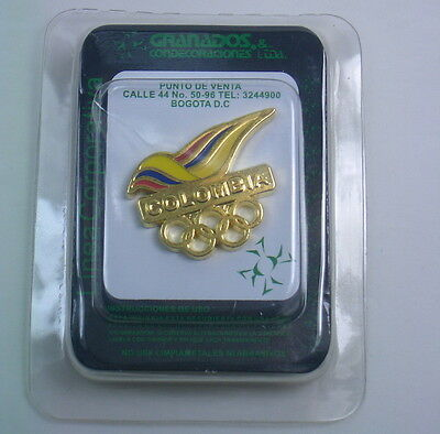 Colombia Olympic NOC Pin 2