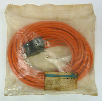 Rittal PS-4315-100 Cable 3m 3-Wire Connector End *NEW*