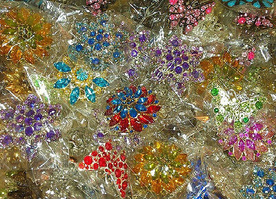 50 Pcs Varieties Shapes Brooch----Mix Lots