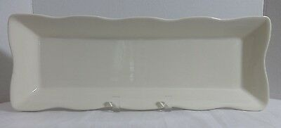 """HOMEWARE MADE IN PORTUGAL SERVING TRAY PLATTER DISH PLATE CHEESE CRACKERS 17"""""""