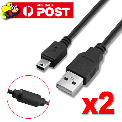 2x USB Power Charger Charging Cable for Sony PS3 Move Wireless Game Controller