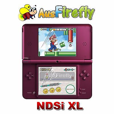 Clear LCD Screen Protector Cover Film Guard for Nintendo NDSi DSi LL / XL