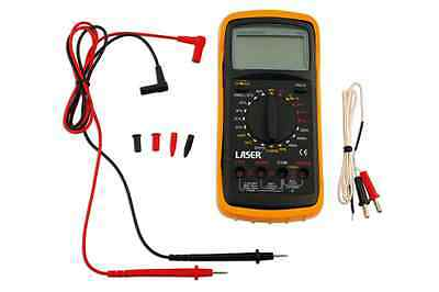 Laser Tools Last Few Automotive Multimeter Data Hold Function Audible Continuity