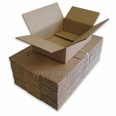 "9"" x 6"" x 2.5"" Single Wall Cardboard Boxes Postal Packing Mailing Small Parcel"