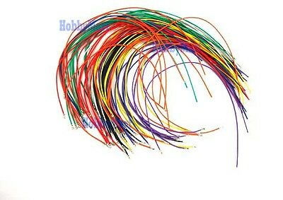 PH 2.0mm Pre-Crimped Female Contact Pin 300mm color cable end of bare wire x 80