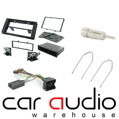 Ford Fusion 2006 On Car Stereo D/Din Fascia & Steering Wheel Interface CTKFD21